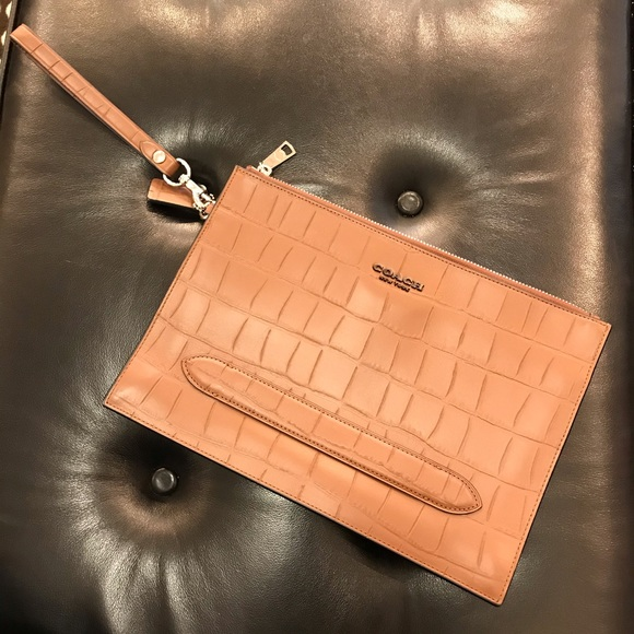 COACH STRUCTURED POUCH $350